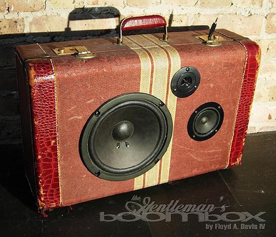 Artpentry Gentleman Boombox 544x468px