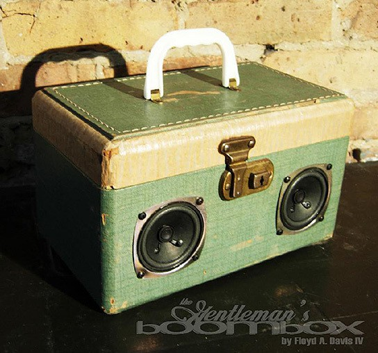 Artpentry Gentleman Boombox 544x508px