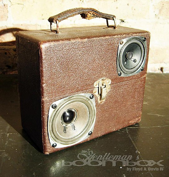 Artpentry Gentleman Boombox 544x568px