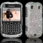 BlackBerry Bold encrusted Xillion cut Swarovski Crystals