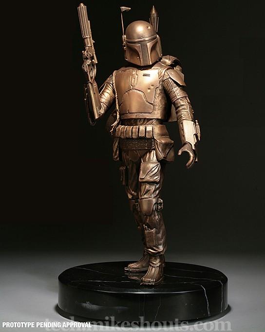 Boba Fett Bronze Statue 544x680px