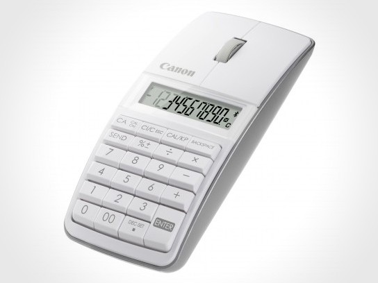 Canon X Mark I Mouse - mouse, calculator and keypad in one ...