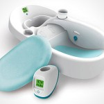 Baby Care: Cleanwater Baby Bathtub with Temp Reading