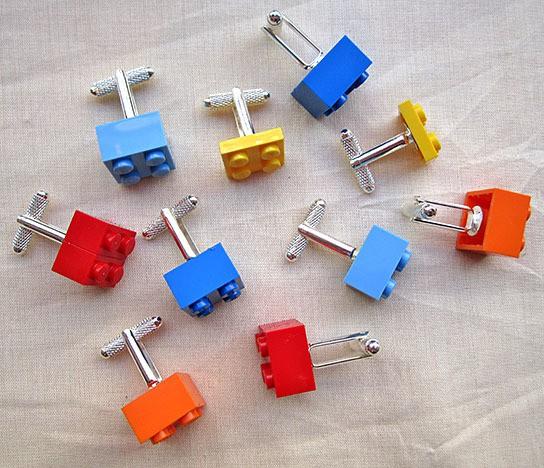 DIY LEGO Cufflinks 544x468px