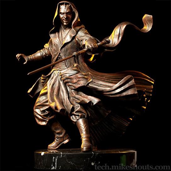 Darth Maul Bronze Statue 544x544px