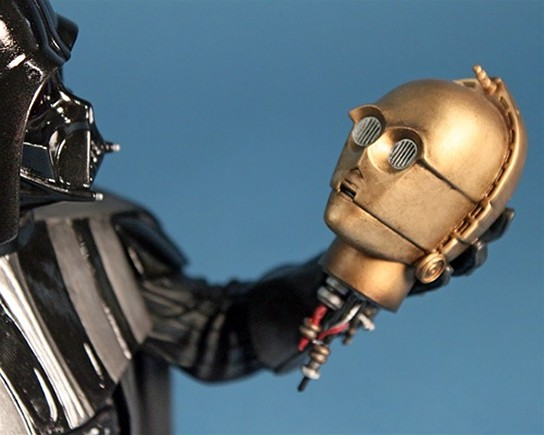 Darth Vader Meet the Maker Holiday 2011 Deluxe Mini Bust 544x345px
