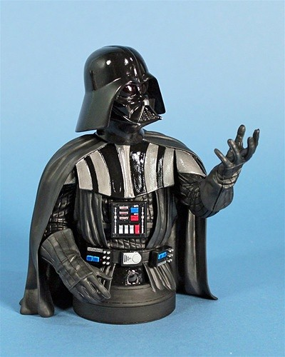 Darth Vader Meet the Maker Holiday 2011 Deluxe Mini Bust 400x500px