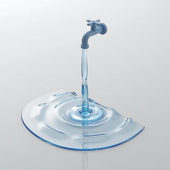Elecom JAGUCHI Stand - color: clear blue 544x544px