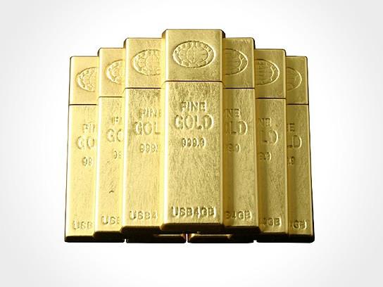 Gold Ingot USB Memory 544x408px