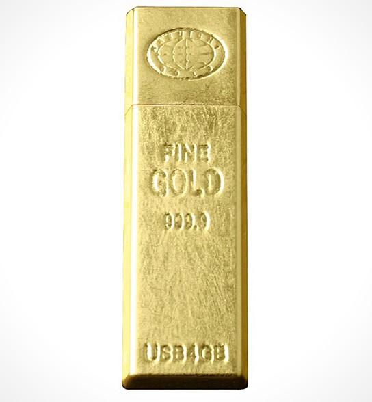 Gold Ingot USB Memory 544x588px