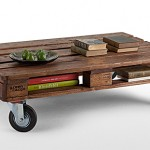 Legion Pallet Table – pallet turned into awesome coffee table
