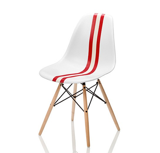 Limited edition Bally Meets Herman Miller Eames Chair 544x520px