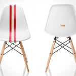 limited edition Bally Meets Herman Miller Eames Chair