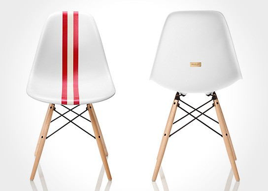 Limited edition Bally Meets Herman Miller Eames Chair 544x388px