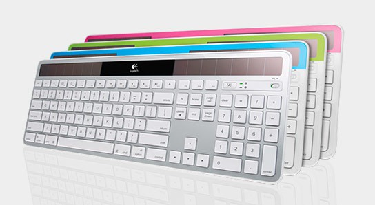 Logitech Wireless Solar Keyboard K750 for Mac 544x298px