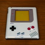 turn your iPad 2 into an oversized Game Boy-lookalike