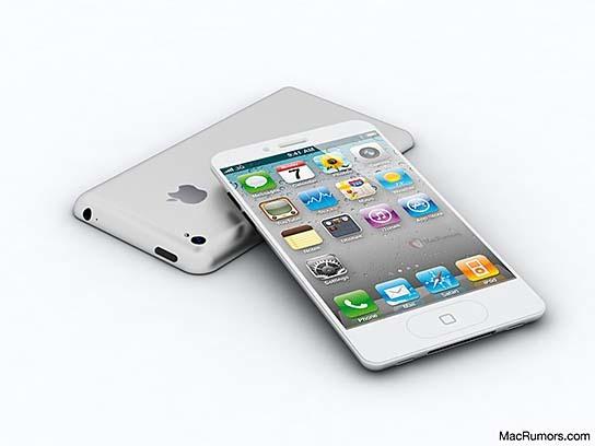 MacRumors-CiccareseDesign iPhone 5 Render 544x408px