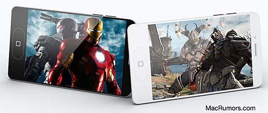 MacRumors-CiccareseDesign iPhone 5 Render 544x230px
