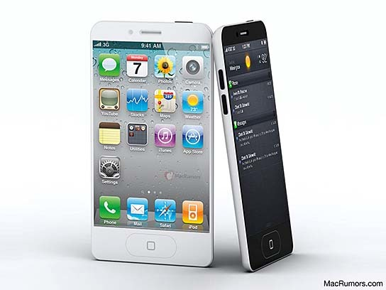 MacRumors-CiccareseDesign iPhone 5 Render 544x408px