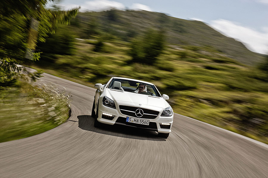 Mercedes-Benz SLK 55 AMG 900x600px