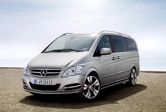 Mercedes-Benz Viano Vision Pearl Showcar 544x368px