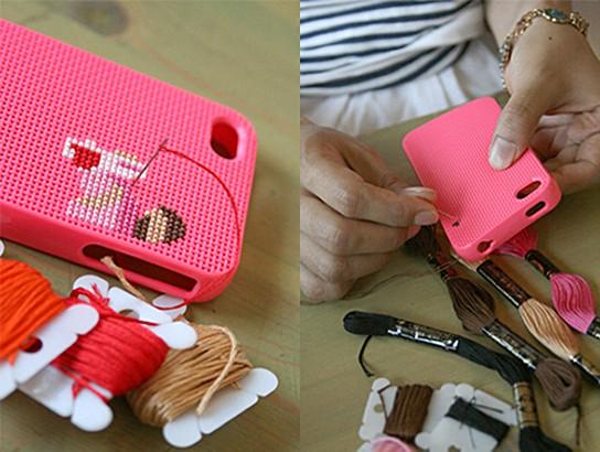 Neostitch DIY iPhone 4 Case 544x410px