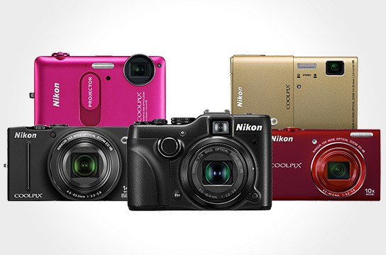 Nikon COOLPIX cameras 544x360px