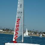 Nissan-built catamaran to set sail on Danish ocean
