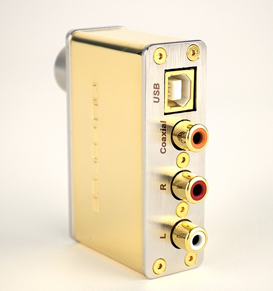 NuForce uDAC-2 Signature Gold Edition 544x578px