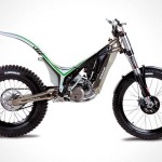 OSSA TR 280i Trial Bike – look Ma, no seat!