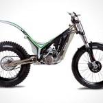 OSSA TR 280i Trial Bike – look Ma, no seat!