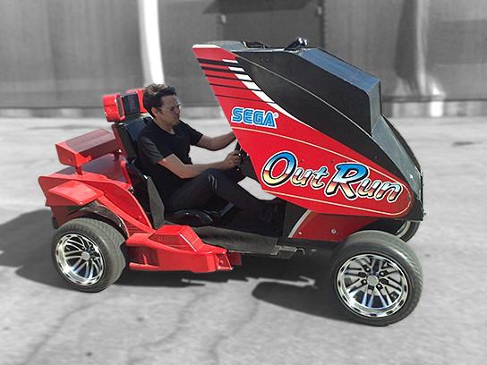 OutRun Arcade Car 544x408px