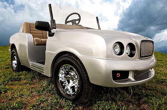 Pennwick Custom Golf Cart - Brooklyn 544x360px