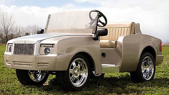 Pennwick Custom Golf Cart - Shadow 544x308px