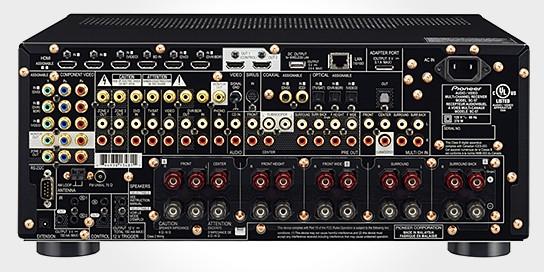 Pioneer ELITE SC-57 AV Receiver 544x272px