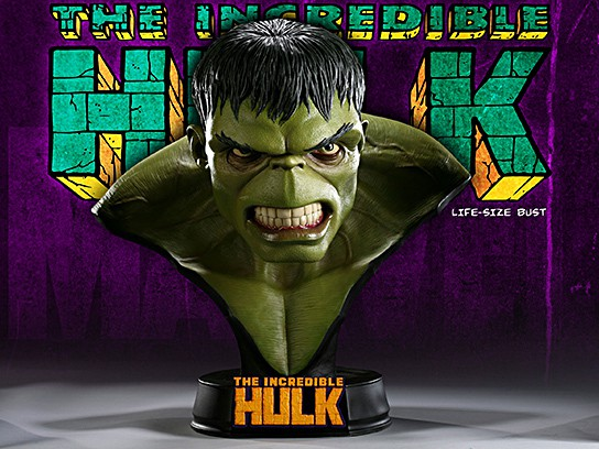 Sideshow Collectibles Hulk Life-size Bust 544x408px