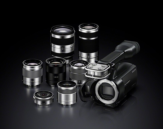 Sony Handycam NEX-VG20 Camcorder 544x428px