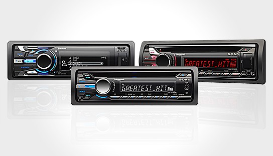 Sony In-dash Car Stereo 544x311px