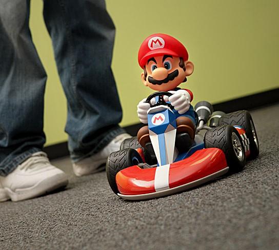 Super Deluxe Mario RC Cars 544x488px