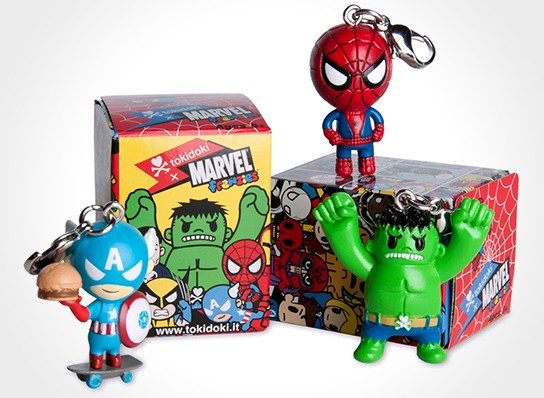 Tokidoki x Marvel Frenzies 544x398px