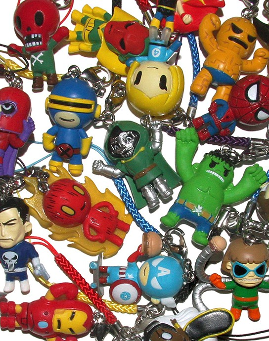 Tokidoki x Marvel Frenzies 544x690px