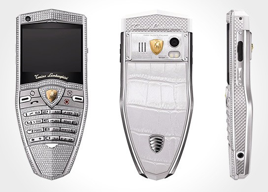 Tonino Lamborghini Spyder Supreme Diamond Cell Phone 544x390px