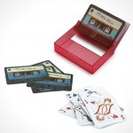 Umbra Tape Deck Cards – cassette tape styled playing cards