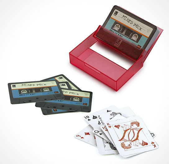 Umbra Tape Deck Cards Red 544x528px