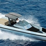 Wally One – single deck, 630 horsepower power boat