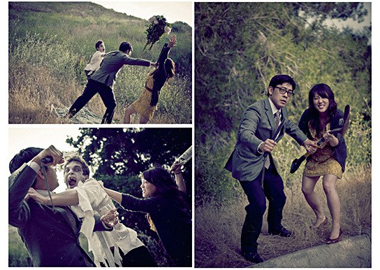 Zombie Engagement Photos 544x386px