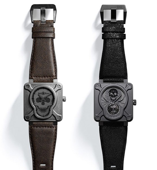 Bell & Ross Airborne II and Tourbillon Airborne watches 544x588px