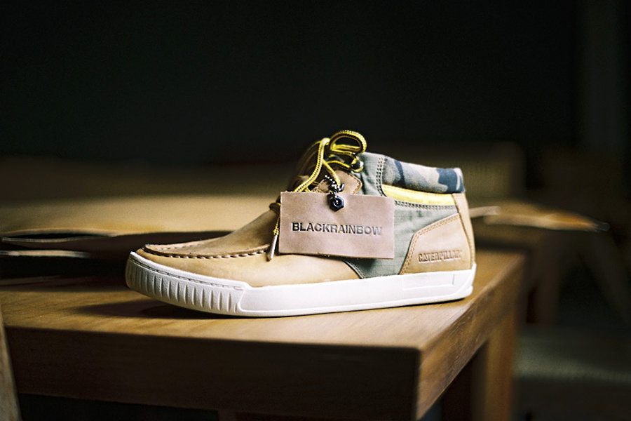 BlackRainbow x CAT Shoes 900x600px