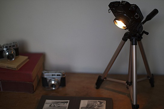 Camera Desk Lamp 544x363px
