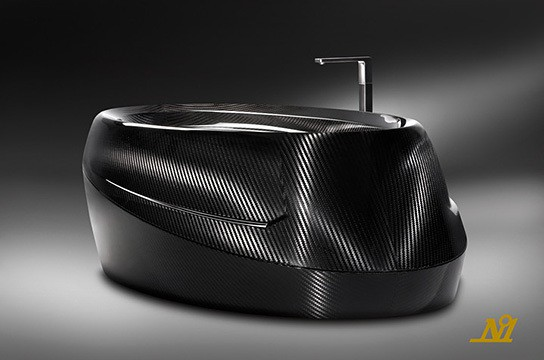 Corcel N°1 Carbon Fiber Bathtub 544x360px